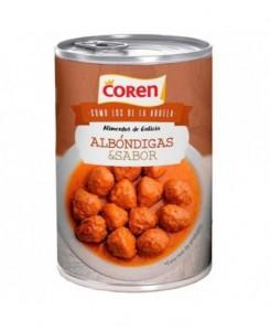 Coren Meatballs with Peas...