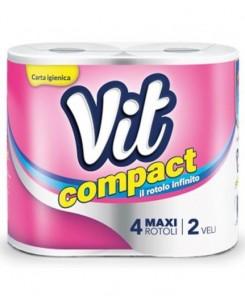 Vit Compact Toilet Paper 4pcs