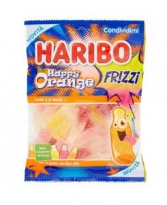 Haribo Happy Orange Frizzi...