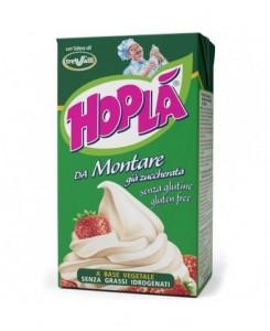 Hoplà whipping cream...