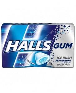 Halls Gum Peppermint 16pcs