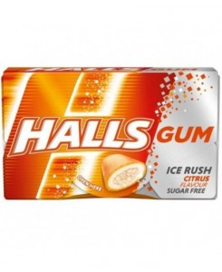 Halls Gum Citrus 16pcs