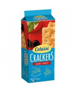 Colussi Crackers Salty 500gr
